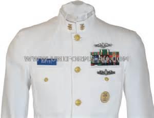 Us Navy Service Dress White Sdw Choker