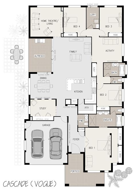 dual occupancy floor plans dual occupancy floor plan unforgettable cascade house