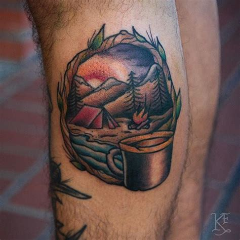 outdoor tattoos designs 17 best ideas about cing on simple