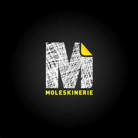 designboom graphic design moleskinerie logo by filipa pinto graphic designer