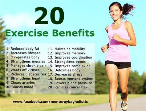 exercise of biography 20 exercise benefits monterey bay holistic alliance
