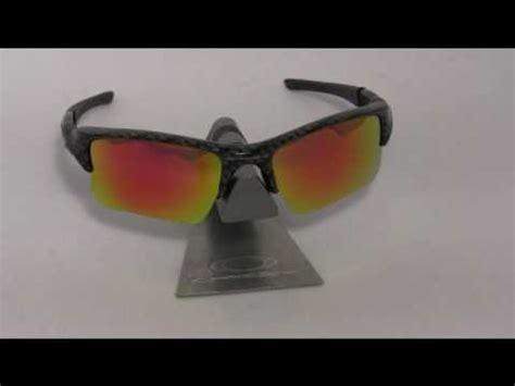 fire red polarized lenses fit oakley flak jacket xlj youtube