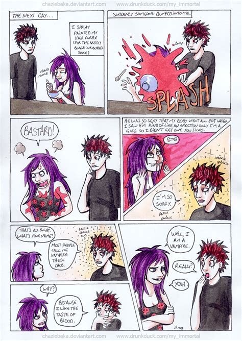 how does immortality feels by mrcbleck on deviantart my immortal chapter 6 by chaziebaka on deviantart
