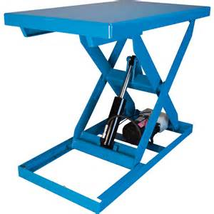 hydraulic table lift bishamon optimus series electric hydraulic lift table