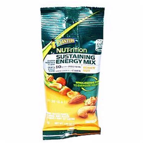 planters nutrition sustaining energy mix honey nut