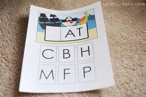 printable letters for making words making words blending letters printable