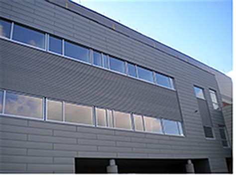 facilities management windows exterior walls metal wall