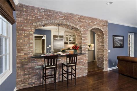 Best Private Dining Rooms In London - brick wall in modern interior designs furnish burnish