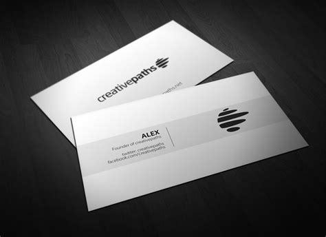 free advertising business card template 40 really creative business card templates webdesigner depot