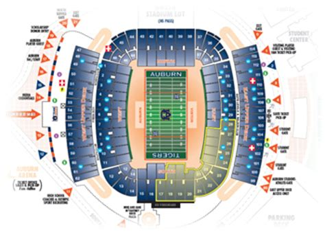 hare stadium seating capacity aubtix official auburn tigers tickets