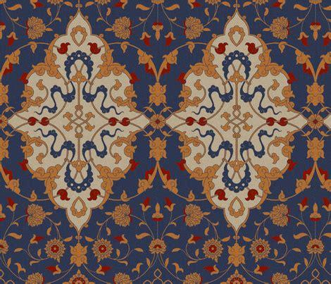 islamic pattern fabric islamic damask 1d fabric muhlenkott spoonflower