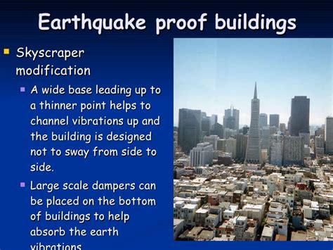 earthquake proof buildings gcse earthquakes ap
