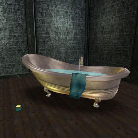 second life marketplace bathtub geraldine pewter