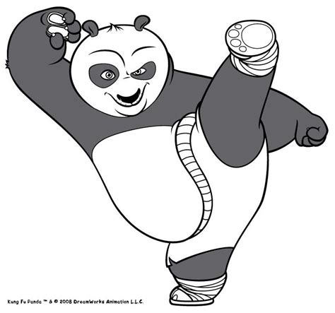 kung fu panda coloring pages po po the kung fu panda coloring pages hellokids com