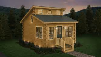 buck creek affordable tiny log cabin