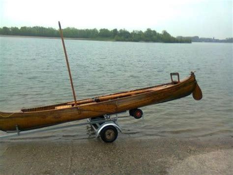 zeil te koop houten zeil kano advertentie 436477