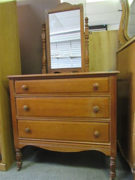 dresser top cheval mirror lot detail vintage solid wood dresser with cheval mirror