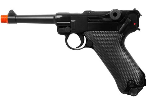Tas Airsoftgun Handgun we p08 metal gas 4 inch barrel airsoft pistol airsoft guns