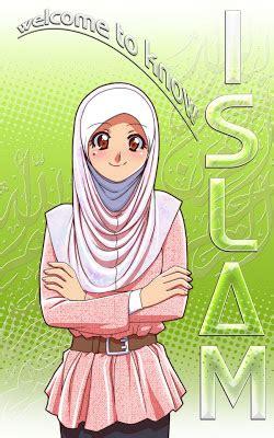 anime muslim girl wallpaper variasi pena muslim cartoon cute 1