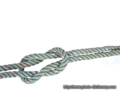 knot define knot at dictionarycom reef knot photo picture definition at photo dictionary