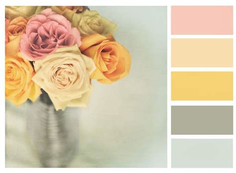 shabby chic colour schemes 17 best images about color schemes on color