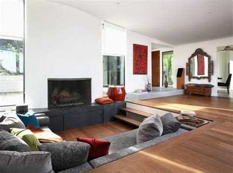 sunken living room designs cozy living room designs with fireplaces defined by sunken