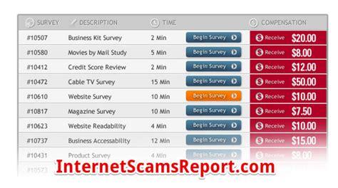 Get Cash For Surveys Sign Up - is get cash for surveys a scam cashless surveys internet scams report