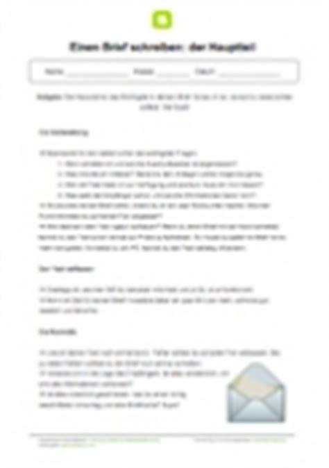 Muster Briefe Schreiben 3 Klasse Einen Persnlichen Brief Schreiben Analyse Der Erklrung Crash Test Sz Muster Einen Brief