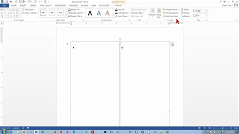 word layout pages side by side word 2013 side by side columns youtube