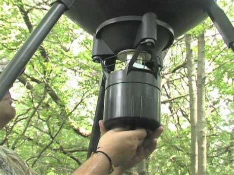 moultrie 30 gallon pro hunter digital tripod feeder youtube