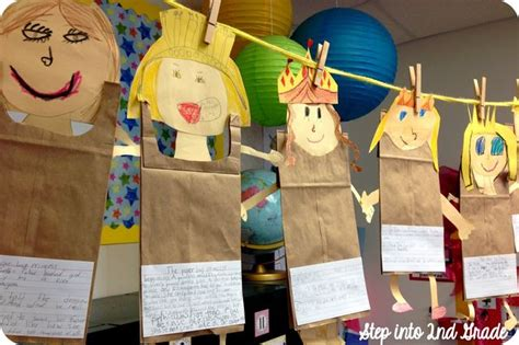 paper bag princess puppet pattern division prepositions and robert munsch step into 2nd
