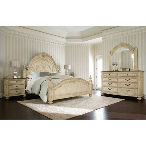 american drew bedroom set american drew the boutique 4 piece mansion bedroom set in