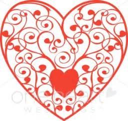 floral heart clipart heart clipart