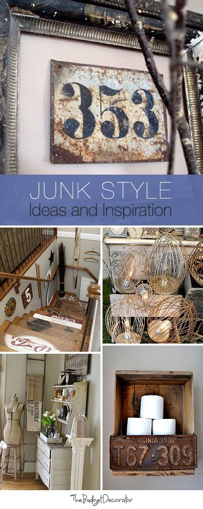 junk decorating home ideas junk style decorating ideas inspiration lots of
