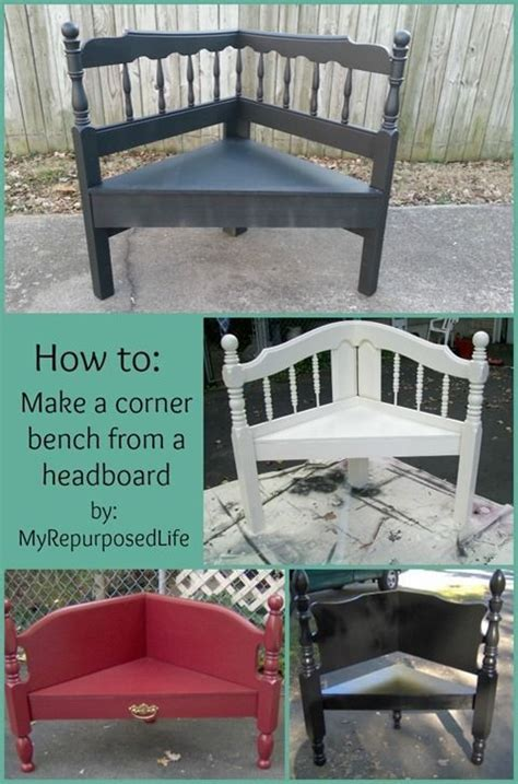 how to make a bench from a headboard must try building one of these to paint with cece caldwell