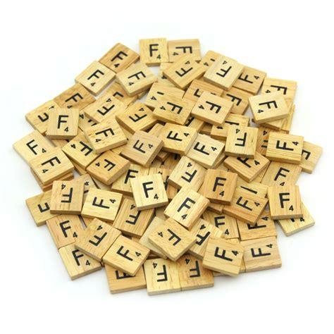 scrabble tiles ebay wooden scrabble tiles letter alphabet set for scrapbooking