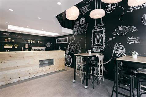 cafe negro design retail space converted into fresh coffee shop design in