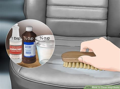 best boat seat cleaner 3 ways to clean vinyl seats wikihow