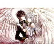 Anime Angel And Demon Love Wallpaper For Android IPhone IPad