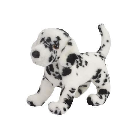 stuffed dalmatian puppy winston the plush dalmatian puppy by douglas