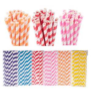 decorative paper straws hotsale striped paper drinking straws decorative party