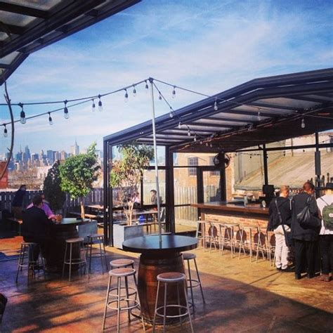 backyard bar brooklyn new york s top ten rooftop bars for summer 2016 easyvoyage