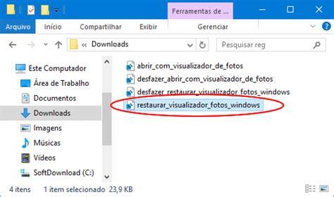 visualizador de imagenes windows 10 no funciona como restaurar o visualizador de fotos no windows 10