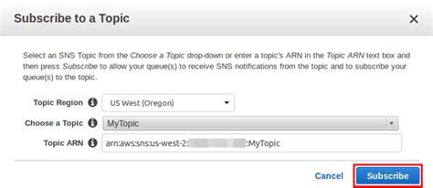 amazon queue tutorial subscribing an amazon sqs queue to an amazon sns