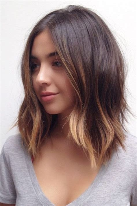 hairstyles for hair down to your shoulders best 25 short hair with layers ideas on pinterest