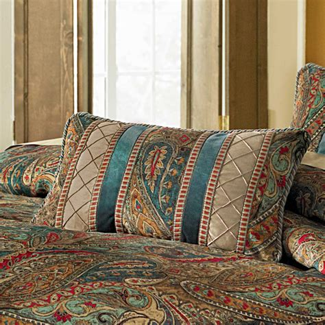 michael amini seville luxury comforter set king  queen size bedding sets comforters