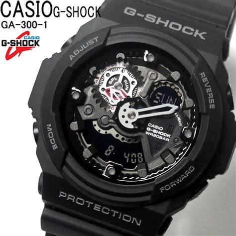 Casio Ga 300 1a カシオ g shock gshock gショック メンズ 腕時計 ga 300 1a 黒 ブラック ga 300