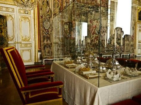royal dining chamber picture of chateau de versailles