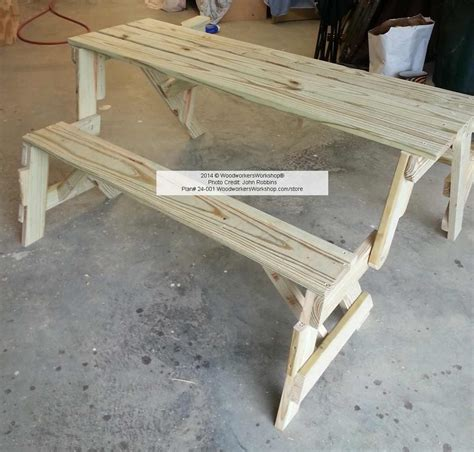 bench table combo plans folding bench and picnic table combo pdf woodworking plan