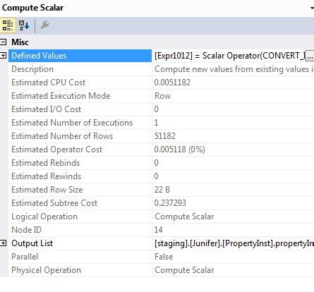sql server implicit conversion causing error part of the